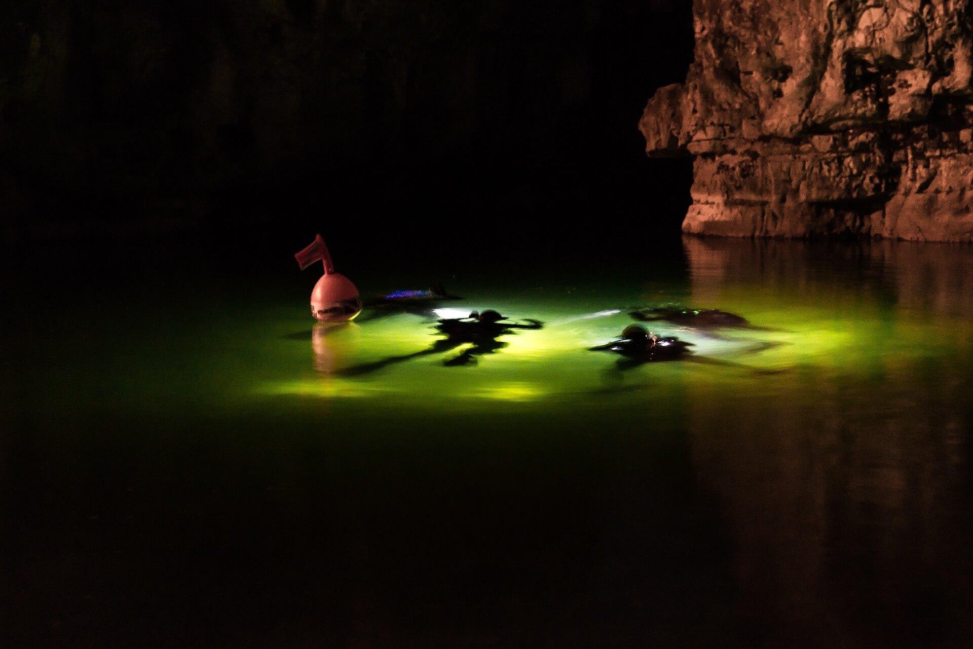 kurs nurkowanie nocne